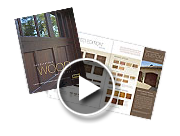 Wood Garage Door Flip Book
